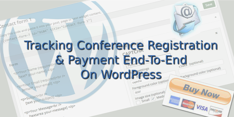 Banner Image: Tracking Conference Registration and Payments End-to-End on WordPress